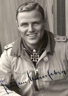 Major Joachim Müncheberg (1918 – 1943), Luftwaffe fighter ace.