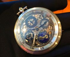 A modern version of what Audemars Piguet used to do, and they still make a limited number of pocket watches as part of celebrating their rich history of ultra complicated pocket watches. This one has a perpetual calendar, with indications for the day, date, month, phase of the moon, as well as the leap year. See the Audemars Piguet we've covered: http://www.ablogtowatch.com/watch-brands/audemars-piguet/ And more pocket watches we've covered on aBlogtoWatch.com