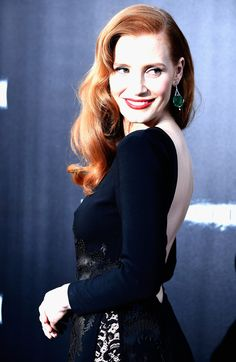"Jessica Chastain attends the premiere of Paramount Pictures' ""Interstellar"" at TCL Chinese Theatre IMAX on October 26, 2014 in Hollywood, California."