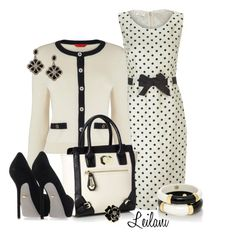 Black and White by leilani-almazan on Polyvore