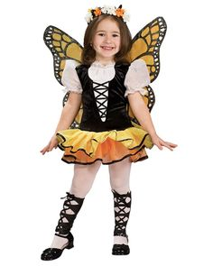Girls Monarch Butterfly Costume