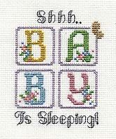 Baby is Sleeping A design for beginners by Pam Kellogg