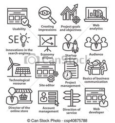 Vector - Business management icons in line style. Pack 07. - stock illustration, royalty free illustrations, stock clip art icon, stock clipart icons, logo, line art, EPS picture, pictures, graphic, graphics, drawing, drawings, vector image, artwork, EPS vector art