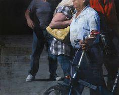 "François Bard, Le sac jaune, 2014, Oil on Canvas, 51"" x 63"" #Art #BDG #BDGNY #Contemporary #Painting"