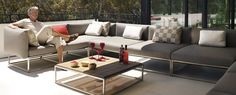 Welcome to Gloster Furniture Sectional Furniture, Lounge Furniture, Outdoor Seating, Outdoor Spaces, Outdoor Living, Gloster Outdoor Furniture, Brisbane, Melbourne, Salas Lounge