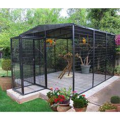 Suncatcher 10.5 X 12 Ft. Flight Bird Aviary - Bird Enclosure