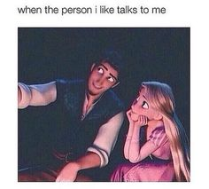 19 Reasons Rapunzel And Flynn Rider Are The Best Disney Couple Disney Memes, Disney Cartoons, Cute Crush Quotes, Quotes Quotes, Funny Memes, Hilarious, Flynn Rider, Christian Humor, Christian Guys