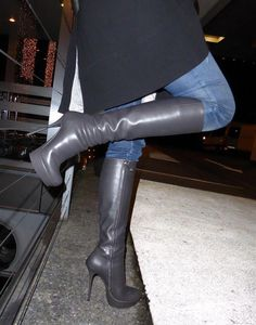 high heel boots stockings #Highheelboots