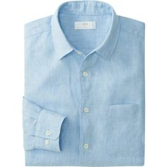MEN PREMIUM LINEN LONG SLEEVE SHIRT | UNIQLO