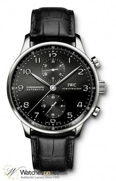 1b8aacbf2c IWC Portuguese collection Men's Watch, Model Number IW371447 features  Chronograph Automatic Movement. Made from