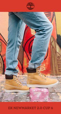 Dica para deixar você com um estilo moderno e urbano: Calça Jeans Straight Locke e EK Newmarket 2.0 Cup 6. Que tal? #Timberland_br