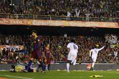 El Clásico classics: the best of Real Madrid v Barcelona:     Barcelona 0‐1 Real Madrid ﴾2011﴿:   Real Madrid edged Barcelona 1‐0 to win the Copa del Rey in one of the most gripping El Clasicos of recent times. Neither side was able to break the deadlock after 90 minutes, which took the match into extra time. Rising to the occasion, Cristiano Ronaldo scored with a header in the 103rd minute to seal the trophy for Los Merengues.