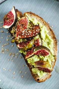 8 of the best food accounts on instagram healthy breakfasts avocado and tahini tartine with balsamic roasted figs or fancy avo toast forumfinder Gallery