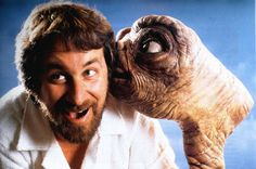 ET-The-Extra-Terrestrial and Steven Spielberg