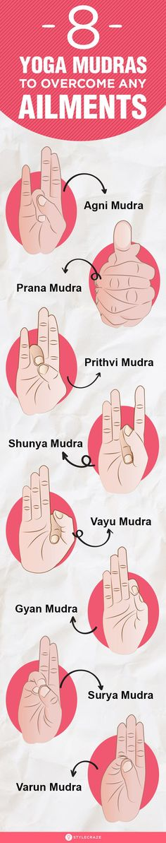 8 Yoga Mudras To Overcome Any Ailments Mudras mean gestures adopted during pranayams and meditations that directs flow of energy into our body Yogic tantras say that thes. Gyan Mudra, Hand Mudras, Psychology Disorders, Spiritual Wellness, Yoga Poses For Beginners, Pranayama, Yoga For Weight Loss, Yoga Tips, Kids Nutrition