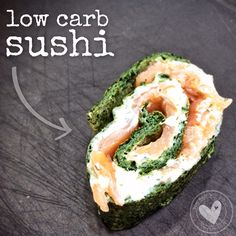 Low-Carb Sushi – oder sowas ähnliches  My camino