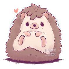 animals illustration ✨💕 Kawaii Hedgehog 🦔💕✨ I drew a hedgehog a bit over a year ago and . ✨💕 Kawaii Hedgehog 🦔💕✨ I drew a hedgehog a bit over a year ago and it's nice to see how my style has developed 😄💕 As usual comment any cute… - Cute Kawaii Animals, Cute Animal Drawings Kawaii, Cartoon Drawings, Cute Drawings Of Animals, Arte Do Kawaii, Kawaii Art, Anime Kawaii, Kawaii Chibi, Doodles Kawaii