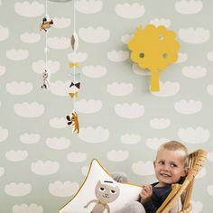 Ferm Living Tree wandlamp LED geel | FLINDERS verzendt gratis