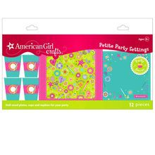 American Girl Crafts® Petite Party Settings