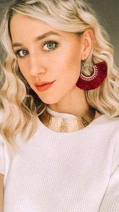 These playful fringe earrings are fair trade and ethically handmade by women in Thailand. Their deep maroon color will be perfect for fall! Get them while supplies last! Maroon Color, Fringe Earrings, Fair Trade, Thailand, Deep, Fall, Handmade, Women, Fashion