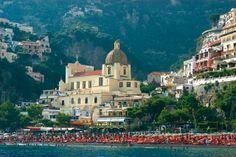 Positano Church for Wedding in Italy - www.italiandestinationweddings.com