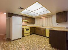 original vintage old range oven 1978 harvest gold Phoenix Arizona homes houses for sale real estate photo