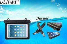 Waterproof Tablet Dry Bag For iPad Mini 1, 2, 3, Kindle Samsung mi pad 2, 3