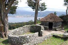 The Castros of Santa Tegra, province de Pontevedra
