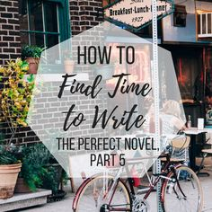 As a writer, it can be a struggle to find enough time to write. Here are some solid ways you can make time in your busy schedule to finish you book.