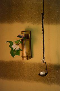 Chabana - Flower arrangement for Japanese tea ceremony