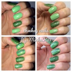 Easy St. Patrick's Day Nail Art with Red Dog Designs Blarney Stone   http://ehmkaynails.blogspot.com/2014/03/easy-st-patricks-day-nail-art-with-red.html