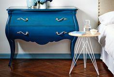 Guest Bedroom Blue Furniture