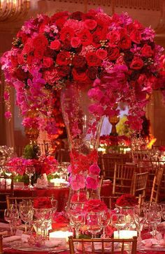 The Fuchsia Flowers Are Stunning Arrangements For Weddings Ideas Wedding Flower Rose Wholesale