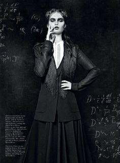 Sorceress Schoolgirl Photoshoots - The Black Magazine Issue 17 Editorial Deals in the Dark Arts (GALLERY)