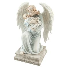 A symbol of the protection of a Guardian Angel over your baby.