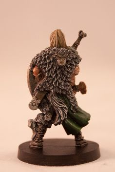 Blood Rage - Serpent Clan - Shield Maiden - Rear