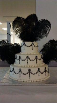 old hollywood wedding cakes | vintage hollywood vintage hollywood themed cake simple elegant and ...