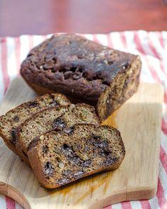 Grain-Free Chocolate Chip Zucchini Bread