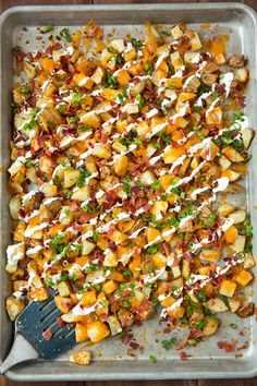 Cheesy Bacon Ranch Roasted Potatoes | Cooking Classy @cookingclassy