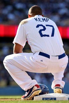 Miss him in Dodger blue! Dodgers Nation, Let's Go Dodgers, Dodgers Baseball, Baseball Players, Baseball Tops, Better Baseball, Baseball Stuff, San Francisco Giants, Matt Kemp
