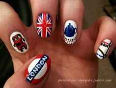 London Nails. For when I actually get to go lol