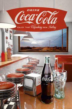Coca-Cola - Diner Póster