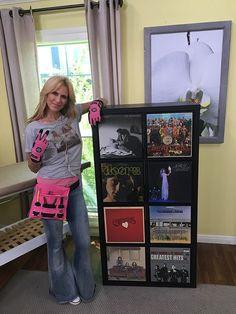How To: Create Vinyl Record Storage | Paige Hemmis