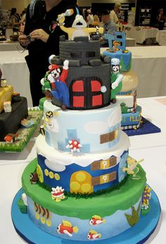 Mario Themed Creation Almost Takes The Cake In Austin