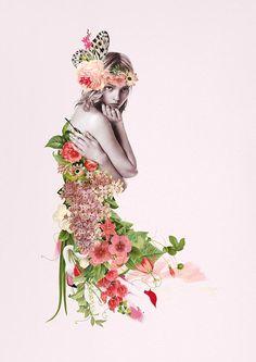 Ciara Phelan, collages preciosistas - El tarro de ideasEl tarro de ideas