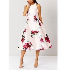 Buy Coast Minerva Floral Dress, Multi Online at johnlewis.com