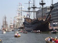 Sail Amsterdam We are right in the middle of this great event. 19 - 23 august 2015
