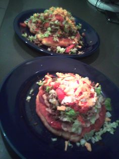 Indian Tacos yum!! I love making these just as much as I love eating them :)