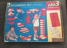 Vintage 1964 Samsonite Corp #Lego Set No. 041 Beginner's Bricks Box VERY RARE #Samsonite Lego