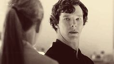 """Sherlock/Benedict's expression here is one of my favorite things. It's right after his and Molly's """"You see me.""""/""""I don't count."""" exchange. When Molly says flatly that she doesn't count, Sherlock's expression looks sad and taken aback. Like, did I really make you feel that way? It's a nuanced sadness that I can't quite find the perfect words for but that is summed up so perfectly in that one look. -I love your face and the amazing things you do with it, Benedict. :)"""